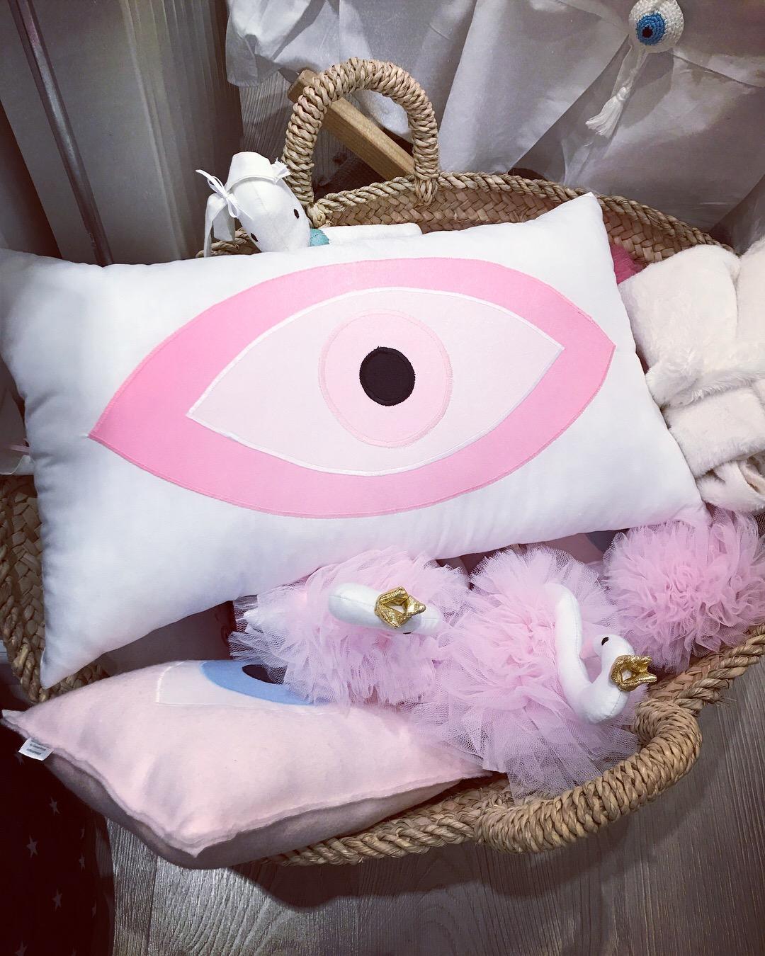 Cushions - Evil Eye cushion